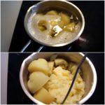 1. Ugotować iubić ziemniaki