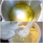 5. Ubić białka iprzełożyć domasy serowej