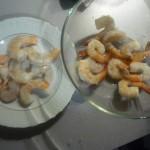 2. Przygotować krewetki