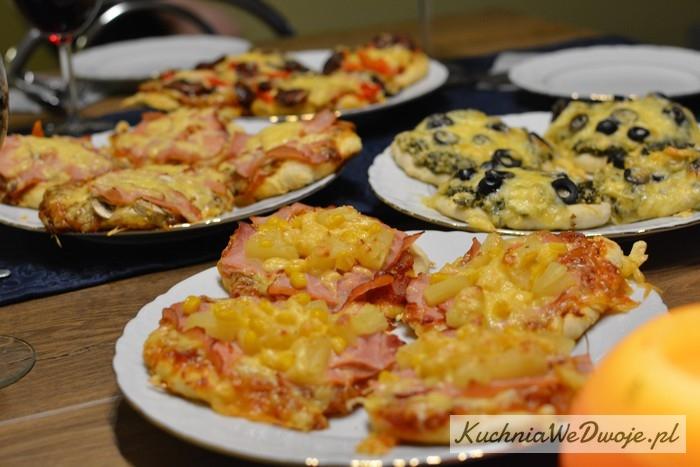070 Mini pizza w4 smakach (wersja I) [KuchniaWeDwoje.pl]