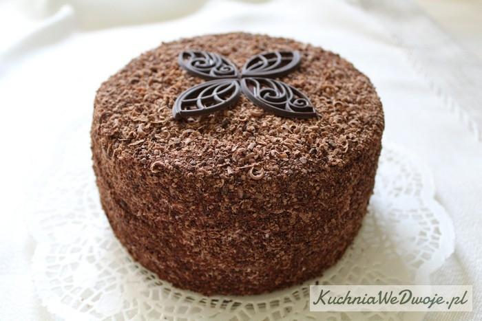 063 Tort mocno czekoladowy zmasą śmietanową KuchniaWeDwoje.pl 3
