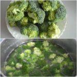 1. Ugotować brokuły