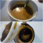 1. Zapażyć kawę iodcedzić zfusów