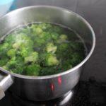 2. Ugotować brokuły