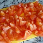 3. Pokroić pomidory