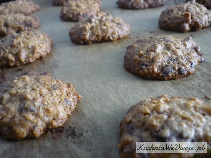 090 Owsiane ciasteczka czekoladowe [KuchniaWeDwoje.pl] 2