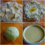 1. Zrobić ciasto natartę