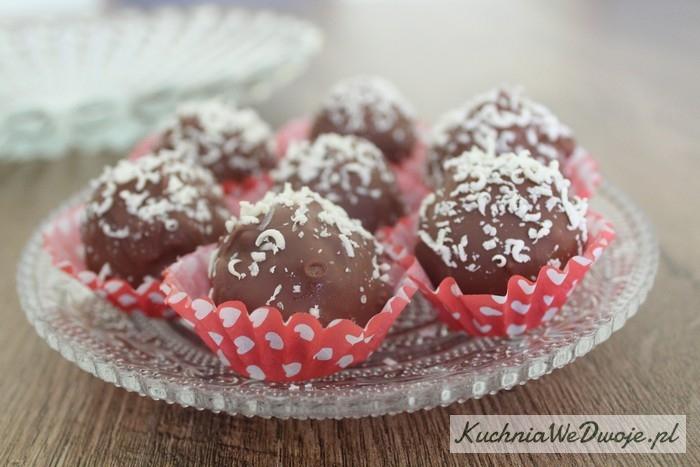 103 Trufle czekoladowe zżelkami ibiałą czekoladą[KuchniaWeDwoje.pl] 2
