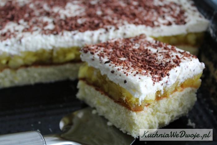 108 Ciasto zmusem jabłkowym ibitą śmietaną [KuchniaWeDwoje.pl] 2