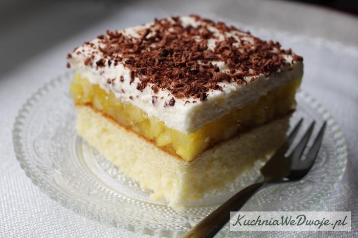 108 Ciasto zmusem jabłkowym ibitą śmietaną [KuchniaWeDwoje.pl]