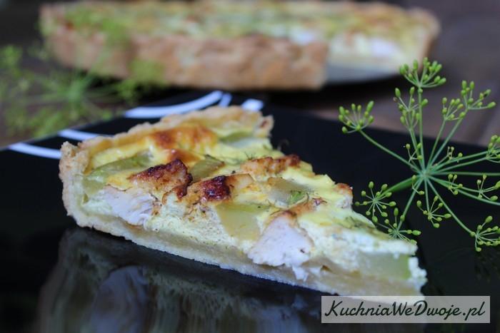 112 Tarta zkurczakiem icukinią [KuchniaWeDwoje.pl]