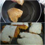 5. Upiec kurczaka nazłoty kolor idodać ser żółty