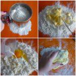 1. Wyrobić ciasto natartę