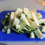3. Pokroić resztę warzyw