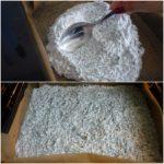 3. Wyłożyć ciasto doformy