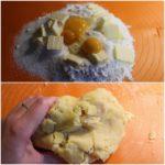 1. Wyrobić ciasto