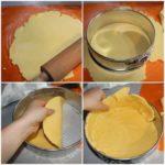 6. Przełożyć ciasto doformy