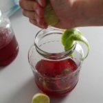 8. Dodać sok iskórkę zlimonki