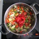 5. Podkoniec gotowania dodać przecier iprzyprawy