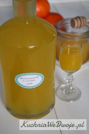 370 Nalewka pomaranczowa z miodem KuchniaWeDwoje_PL 1