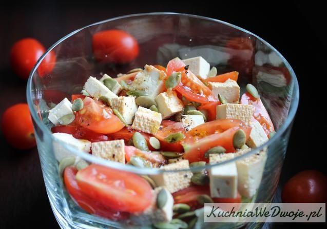 Salatka Z Wedzonym Tofu Kuchniawedwoje Pl Prosty I Sprawdzony