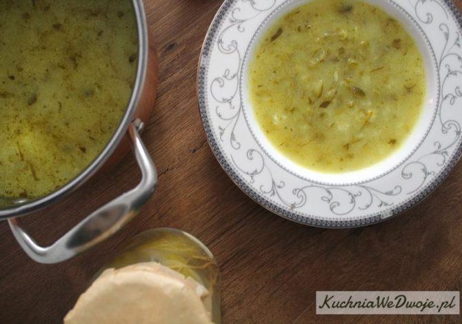 417 Zupa ogórkowa z ryżem KuchniaWeDwoje_pl 2