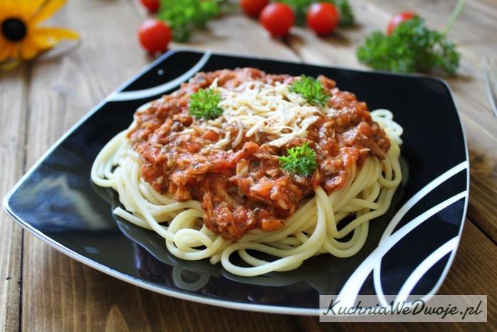 029 Spaghetti ztuńczykiem KuchniaWeDwoje.pl