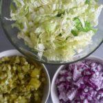 4. Pokroić warzywa