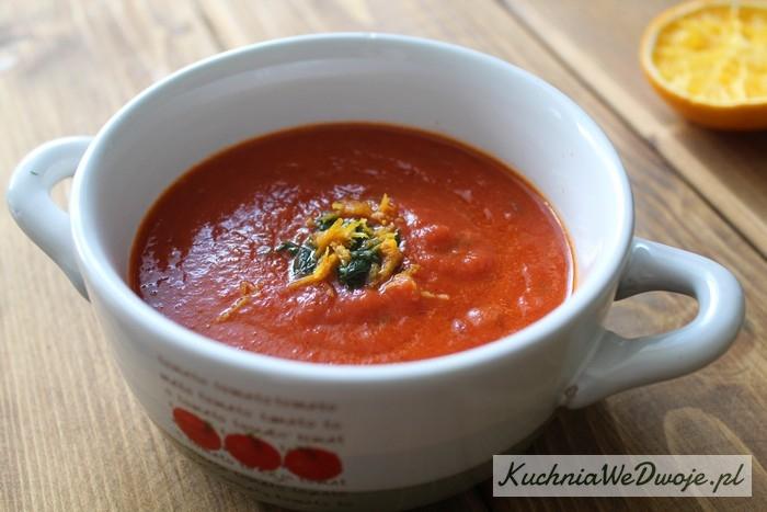 095 Krem pomidorowy zpomarańczą KuchniaWeDwoje.pl
