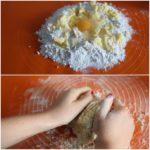 1. Zagnieść ciasto