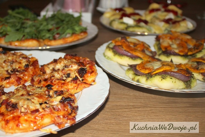 350 Mini pizza w4 smakach (wersja III) KuchniaWeDwoje_PL 1