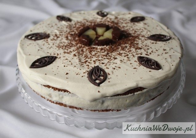 Tort jogurtowy zananasem KuchniaWeDwoje_PL 1
