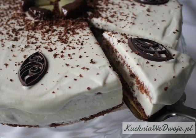 Tort jogurtowy zananasem KuchniaWeDwoje_PL 2