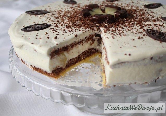 Tort jogurtowy zananasem KuchniaWeDwoje_PL 4