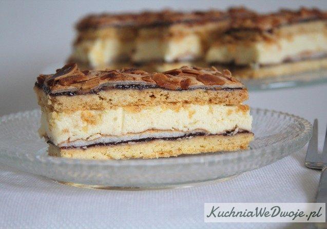 375 Przekladane ciasto migdalowe zbeza KuchniaWeDwoje_PL 1